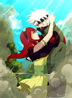 PC:: Kakashi x Kitsune by kivi1230