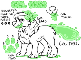 Gel Dogs by CIaw