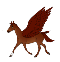 SA | The Pegasus by Queerly