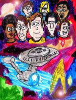To Boldly Go Where No Man Has Gone Before by SonicClone