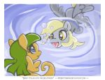 Derpy Talks with the Sea Ponies by mysketchbook