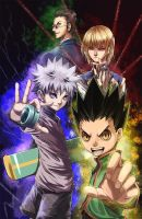 HxH - The Four by Van-Reille