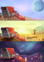 No Man's Sky by ririruby