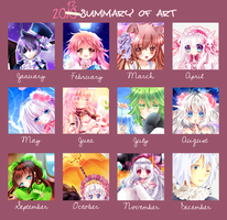 Year Art Meme by Maruuki