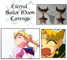 Eternal Moon Anime Earrings by Topaz-Jewelry