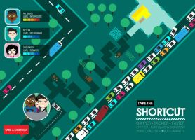 Shortcut Route by oridusartic