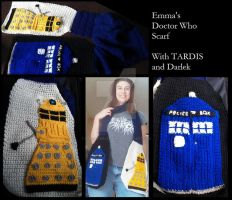Doctor Who Scarf by Scream-Deafening