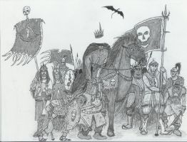 Witch King on the move by Illvetti