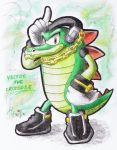 Vector the Crocodile by AR-ameth