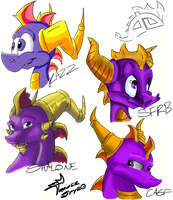 Icons of the DA Spyro Corner by TrainerSpyro
