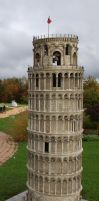 Leaning Tower of Pisa Stock by pixelmixtur-stocks