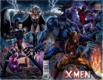 The Uncanny X-Men by edtadeo
