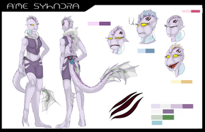 Galactic Smackdown OCT- A'me Syndra by skeletonking999
