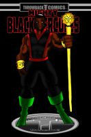 Throwback Comics presents Mighty Black Hercules by RWhitney75