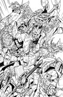 TF MTMTE 15 cover lineart by markerguru