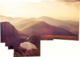 Snowdonia Uncropped Panorama by OPrwtos