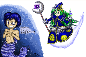 iScribble- Kaiko + Mima Collab by Dizzie-Dog