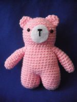 Pink bear by Pachyblur