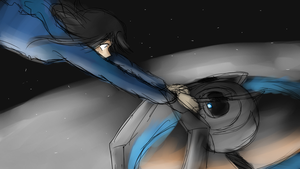 Portal 2: Hold on by theREDspy