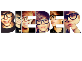 Bieber PNG Text by chicastecnologicas21