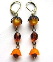 Halloween Night... Earrings 08 by sojourncuriosities