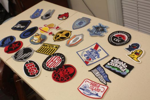 Embroidered patches by tommyfilth