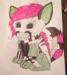 Izzy Whiskers :D by ZombieCharmanderGirl
