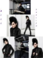 Bill Kaulitz Behind The Scenes by nejicanspin