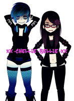 New Looks - Chellie and Me by Xx-Chellie-Bellie-xX