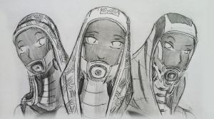 sketches Tali (82) by spaceMAXmarine
