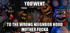 FNAF meme 23 by Mythical-Adventure