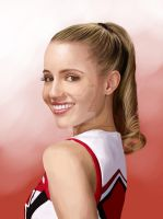 Speed Painting - Quinn Fabray by mediamaster