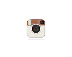 Instagram IOS7 Icon / CAN U INVITE ME TO DRIBBBLE? by filipbaotic