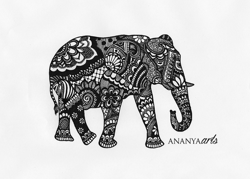 Elephant by AnanyaArts