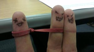 Finger Pals by JoeliusAspect