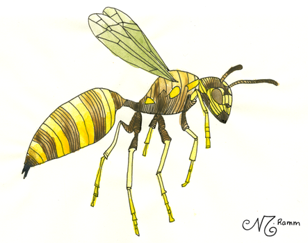 Wasp by thedreadpiraterose