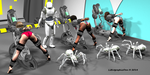 Robot Spider Attack 3 : Wanted Warriors 03 of 18 by LithographicDan