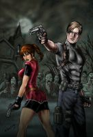 Resident Evil by MarcelloHolanda by carol-colors