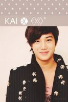 EXO KAI Iphone Wallpaper by marik-devil