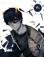 male! vriska - homestuck by LaWeyD