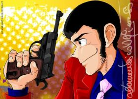 LUPIN III opening P38 by handesigner