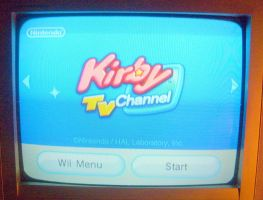 KIRBY TV CHANNEL by MarioBlade64