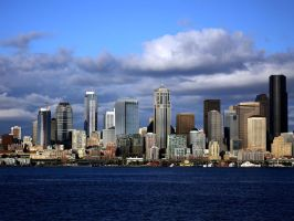 Seattle Skyline 3 by andras120
