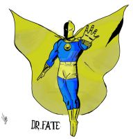 Dr. Fate - Coloured by Vitor-Michaelis