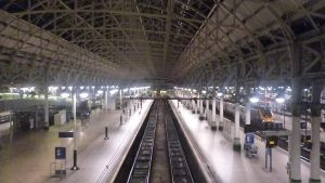 Manchester Piccadilly Station - At Night by Xzavier-JP