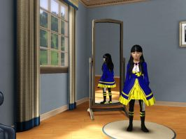 Sims 3 Supernatural - Me in child form as a witch by Magic-Kristina-KW
