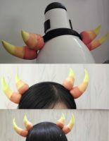 I made Sollux horns! by Skoryx