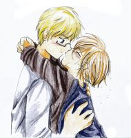 APH - SuFin - kiss by Lime-Inoue