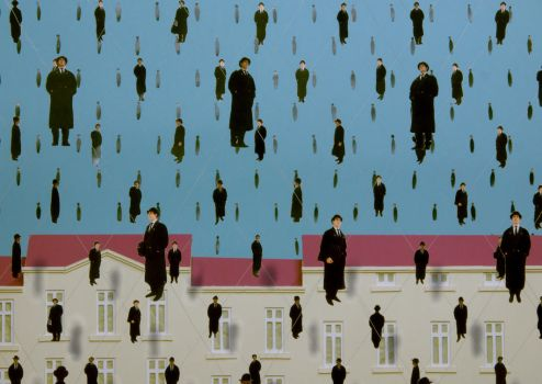 Magritte #1 by anticreep