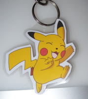 Pika keychain by BlueSmudge